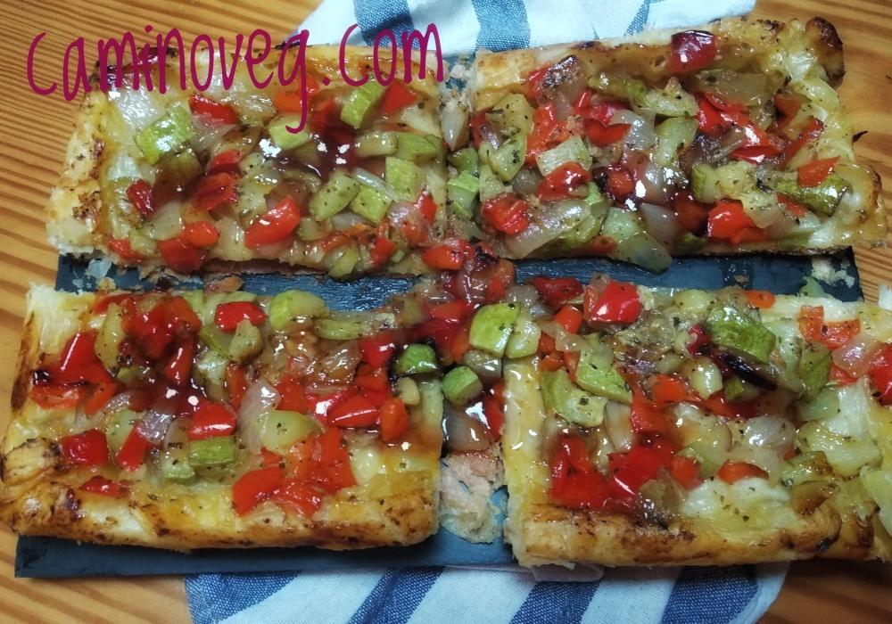 tarta invertida de verduras al horno 2